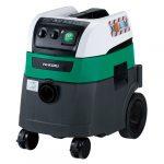 Hitachi RP350YDM Ipari vizes/száraz porszívó M osztály, vibrációs tisztítás, 35L, 1200W, automata