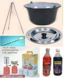 Bogrács, grill, tartozékok