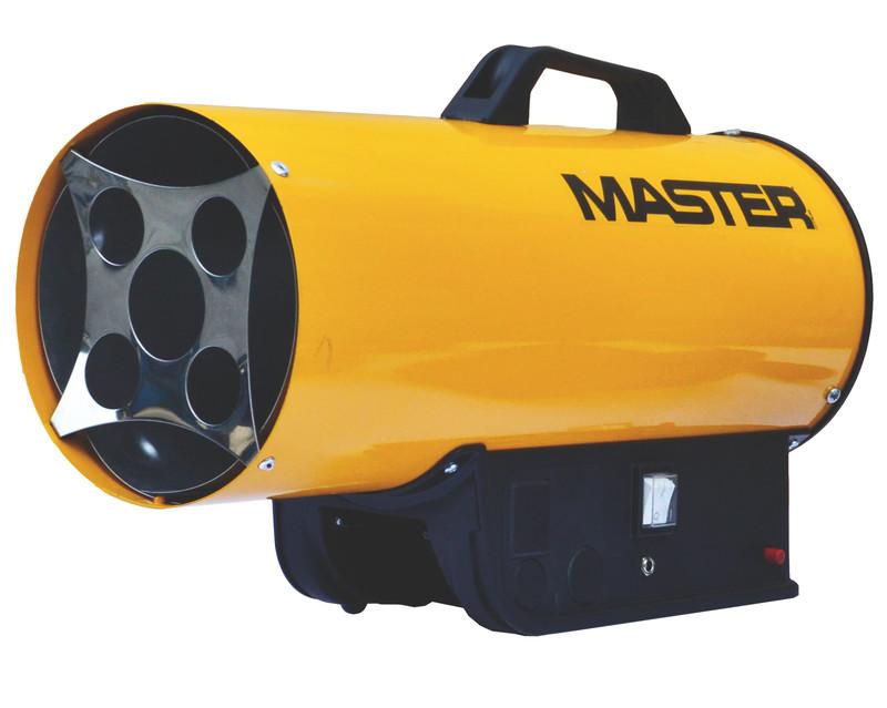 PB gázos hőlégbefúvó Master B300