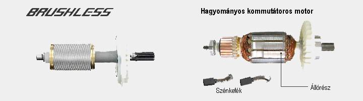 hikoki szénkefementes motor